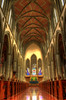 Christ Church Cathedral Interior: Victoria B.C (Brandon Godfrey) Tags: world pictures old blackandwhite bw canada color colour church window monochrome beautiful architecture wonderful landscape photography photo amazing scenery colorful bc christ cross shot cathedral photos shots pics earth britishcolumbia interior sony sunday scenic picture wideangle stainedglass pic scene victoria canadian aisle vancouverisland architect creativecommons western pacificnorthwest northamerica series colourful unreal alpha dslr incredible pews hdr highdynamicrange selective selectivecolor selectivecolour serpia a300 gothicstyle photomatix tonemapped tonemapping harrisgreen thechallengegame challengegamewinner dslra300 sonya300 churchchristcathedral 13thcenturygothicstyle jcmkeith