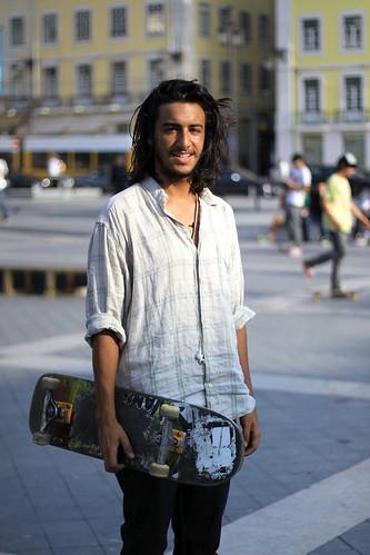 André e o seu skate (e se calhar o Grunge não está mesmo morto)