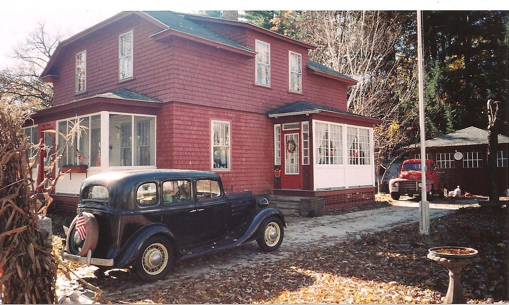 My Dad's 1935 Chevrolet sedan