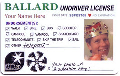 "Ballard's ""Undriver License"" (by: Sustainable Ballard)"