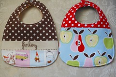 More bibs (GoingSewCrazy) Tags: baby diy ross hand handmade embroidery heather sewing bib nursery craft sew ric crafty patchwork rac rhyme