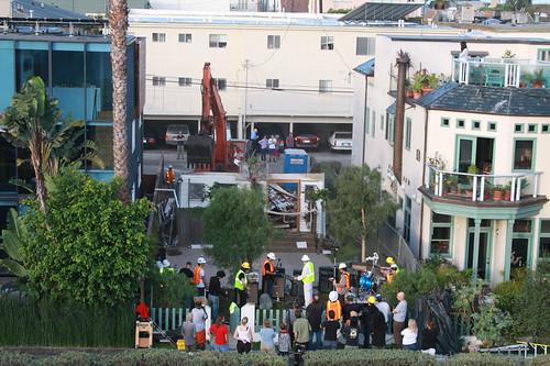Venice Canal Demolition Party