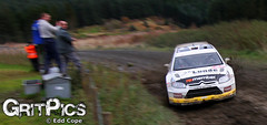 Petter Solberg - Rally GB 09 (Edd Cope) Tags: uk blur ford wales canon matt grit focus angle pics rally citroen wide tokina wrc gb wilson pan welsh rs sideways motorsport 1224 c4 rallying gritpics gritpicscom