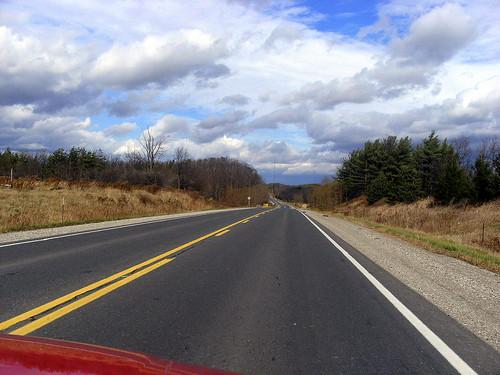 open road / open sky