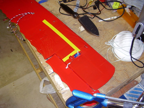 Fokker wing repair