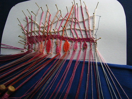 bobbin lace experiment