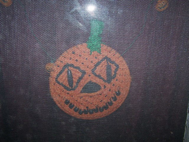 Macrame pumpkin my cousin made