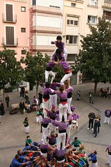 Colla castellera de Figueres, quatre de set