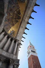 San Marco (R. O. Flinn) Tags: venice sky italy architecture mosaic gothic campanile duomo venise venezia sanmarco