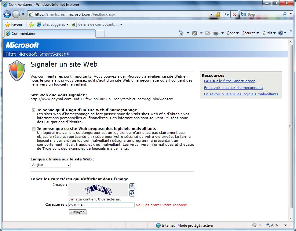 évaluer site web
