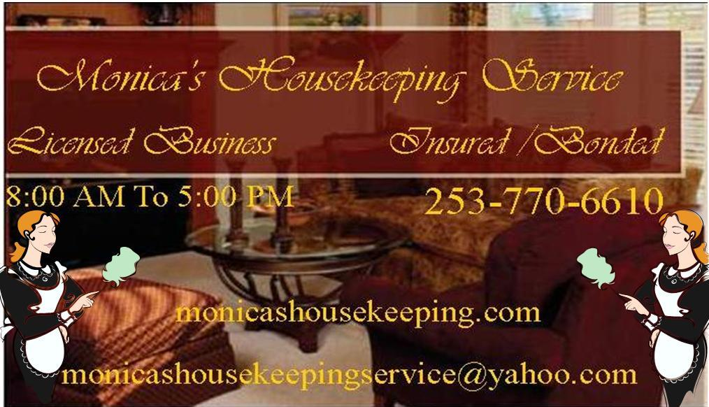 Monica's Housekeeping Service - Homestead Business Directory