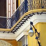 La Habana: Casa de las Hermanas Cárdenas, Plaza Vieja, detalle