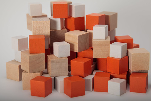 Staccabees Game Pieces by Staccabees, on Flickr