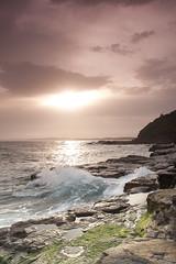 Sunset (raymc76) Tags: sunset sea water rock canon waves skies filter cokin portkembla 1000d