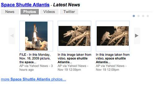 Yahoo Developing News Box