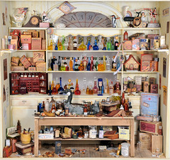 Miniature Pharmacy Charles Wysocki Dollhouse Miniature (MiniatureMadness) Tags: cats miniatures miniature pharmacy handcrafted minis dollhouse charleswysocki oneinchscale 112scale dollhouseminiature handcraftedminiature charleswysockiprint elmerloretta miniaturepharmacy elmerlorettahanginout