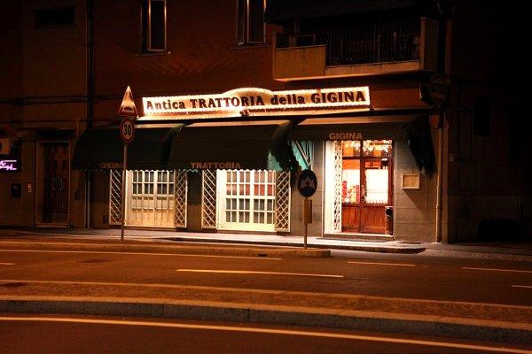 Antica Trattoria della Gigina, Bologna outskirts