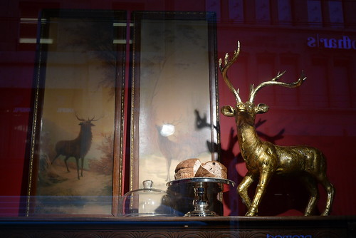 Vitrines Noël Globus -  Geneve novembre 2009