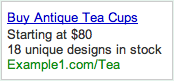 AdWords Dynamic Pricing Text