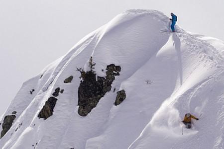 Les Marecottes - romantický SNOW ride
