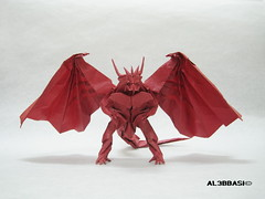 Bahamut (Al3bbasi.) Tags: origami dragon fantasy bahamut kamiyasatoshi divinedragon al3bbasi