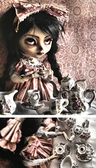 Tasseography (Bloodberry Jam (Neyrelle)) Tags: doll tea pullip custom serendipity tasseography