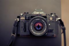 old guard (stormwarning.) Tags: camera canada film lens geotagged edmonton flash sb600 can alberta worn manual damaged canona1 sigma30mmf14exdchsm canonfd50mmf18 geo:lat=53518819 geo:lon=113517877