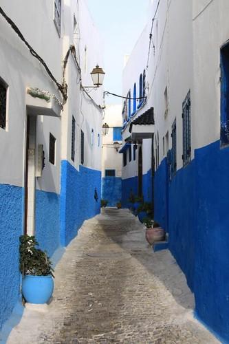 Rabat kasbah alley...