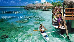 Tahiti overwater fare