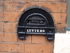 Letterboxes on 85, 87 and 87a Vittoria Street