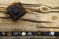 Bolt & Boulders (mcb photography) Tags: wood beach coast rust post pebbles weathered groyne soe spurnpoint mikebarber mywinners abigfave anawesomeshot impressedbeauty flickrdiamond goldstaraward