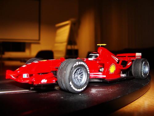 Kimi Raikkonen's Ferrari