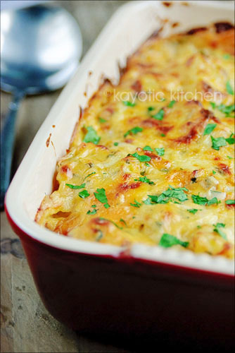 Cauliflower & Potato Gratin