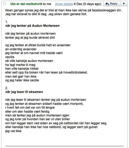 dikt om 'audun mortensen'