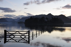 DSC_0422 Late evening Derwentwater (wilkie,j ( says NO to badger cull :() Tags: water lakes lakedistrict derwentwater nationaltrust keswick jackiesdistrict