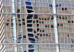 REFLECTIONS (Burlingamebarley) Tags: distortion reflections buildingglassasmirror