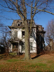 Abandoned Mansion , Milan OH (Equinox27) Tags: old house milan abandoned farmhouse ruins decay victorian spooky weathered slate ruraldecay decayed dormer secondempire mansard