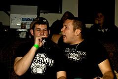 IMG_9885 (Scolirk) Tags: show charity music ontario rock bar burlington canon eos rebel punk ska band corporation event bands 500d panamared thejohnstones keepin6 t1i rockawaycancer