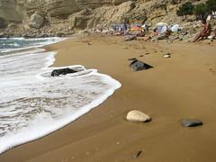 Kokkini Amos-Red Beach (notiosgr1) Tags: red sea beach nude greece naturism crete nudist naturist irakleio matalla ammos kokkini