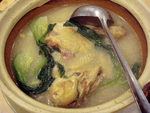 Claypot chick n dumpling@Shanghai Rest