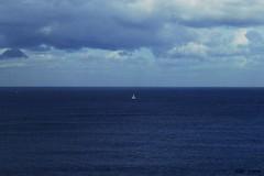 Eternal sea. (Aida Amor) Tags: blue sea sky azul mar grande big barco cielo eternal botar eterno