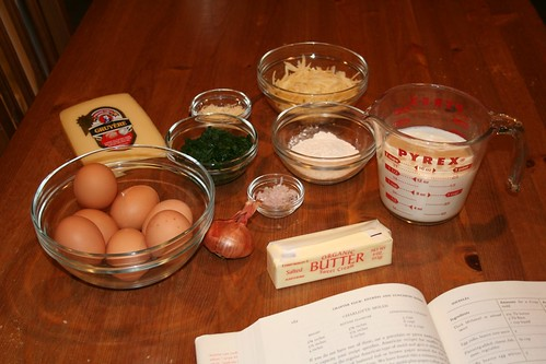 Souffle ingredients