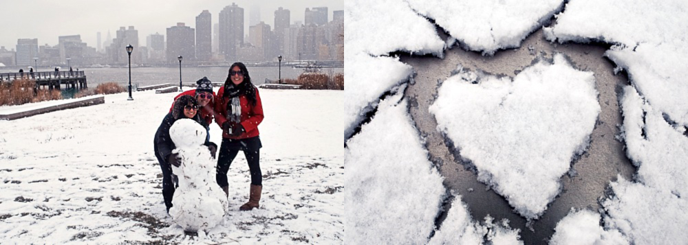 Snow in Long Island City