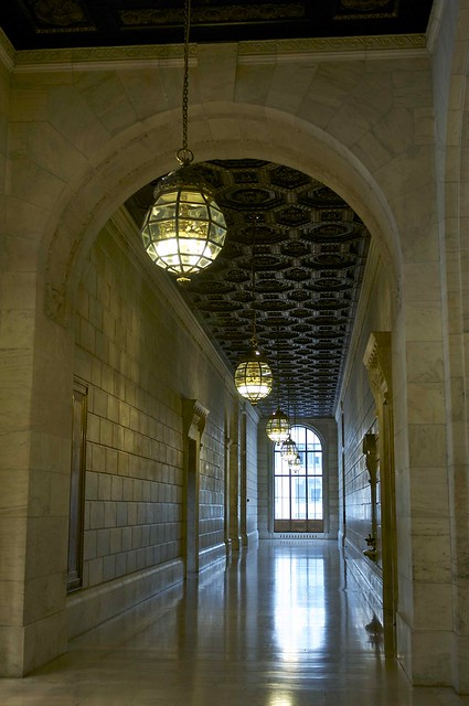 Hallway New York Public Library