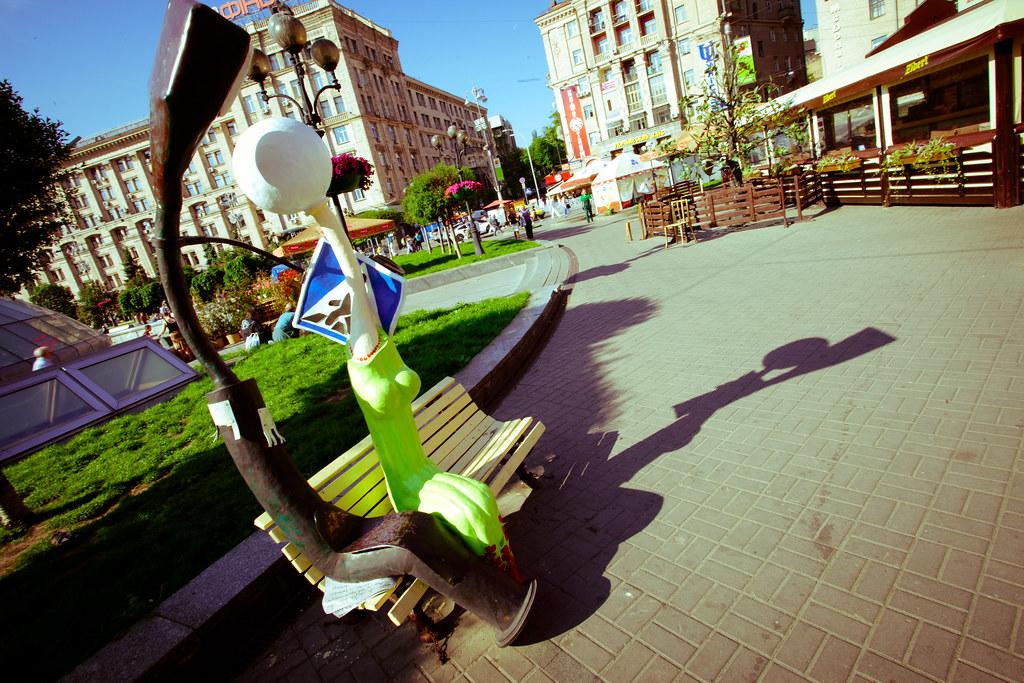 Kiev: Damn foreigners