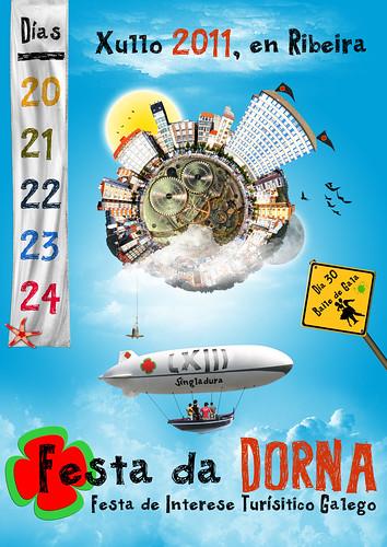 Ribeira 2011 - Festa da Dorna - cartel