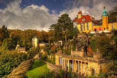 Portmeirion Village (Neil@photos dot com) Tags: pictures sky art wales architecture buildings landscape photography landscapes view sony ngc scenic picture views portmeirion photoart hdr folly digitalphotography theprisoner northwales italianvillage sonyalpha scenicsnotjust landscapelovers neilbeevers