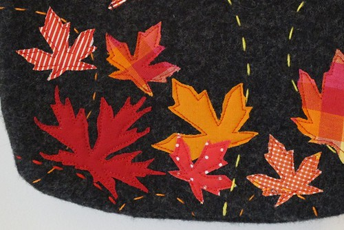 Close up of Applique