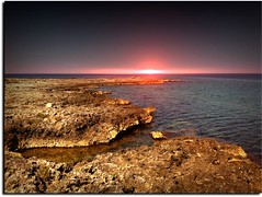 Sunset (Uscè (OFF,OFF!!!!!)) Tags: friends light sunset red summer sky italy panorama sun seascape reflection texture me nature colors skyline landscape photo europe country perspective salento puglia jesi eugenio santisidoro staffolo coppari mygearandme mygearandmepremium mygearandmebronze mygearandmesilver mygearandmegold infinitexposure