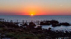 O sol beijando o mar (Gilda Tonello) Tags: pôrdosol entardecer uruguai mar piriápolis